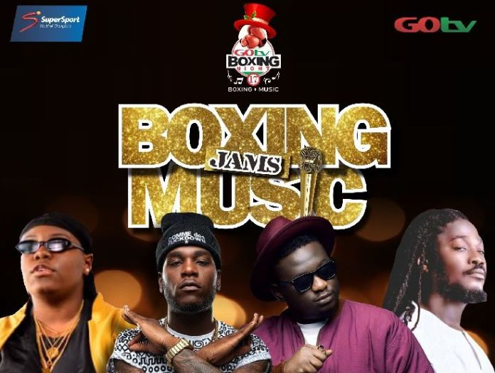 Burna Boy, Wande Coal, Teni Da Entertainer and Daddy Showkey will perform at GOtv Boxing Night 17