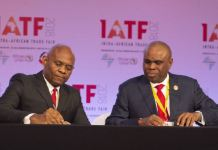 Chairman, Heirs Holdings Group, Mr. Tony Elumelu and President of African Export-Import Bank(Afreximbank), Dr. Benedict Oramah, during the signing of $600 million Facility Deal between Afreximbank and Heirs Holdings Group to scale Heirs Holding's Energy Investments in Africa…….. in Cairo, Egypt on Tuesday