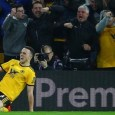 Diogo Jota scored his first goal in the Premier League after netting 17 goals in the Championship in 2017-18