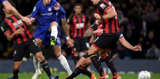 Eden Hazard scored his 99th Chelsea goal in the 1-0 win against Bournemouth