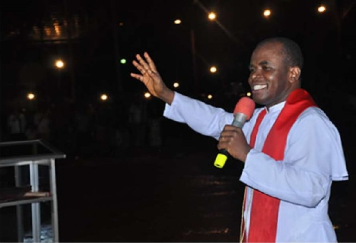 Father Ejike Mbaka escaped an assassination attempt in the South East state of Enugu on 8 December 2018