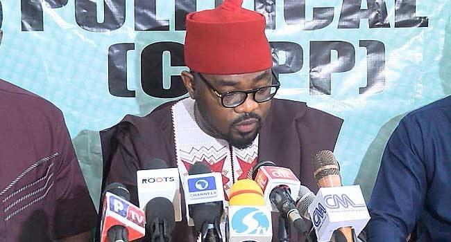 Ikenga Ugochinyere, announced CUPP endorsement of PDP candidate Atiku Abubakar