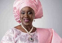 Joke Silva alongside other A-list celebrities have backed President Muhammadu Buhari's reelection