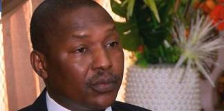 Minister for Justice and Attorney-General Abubakar Malami leads the team to UK
