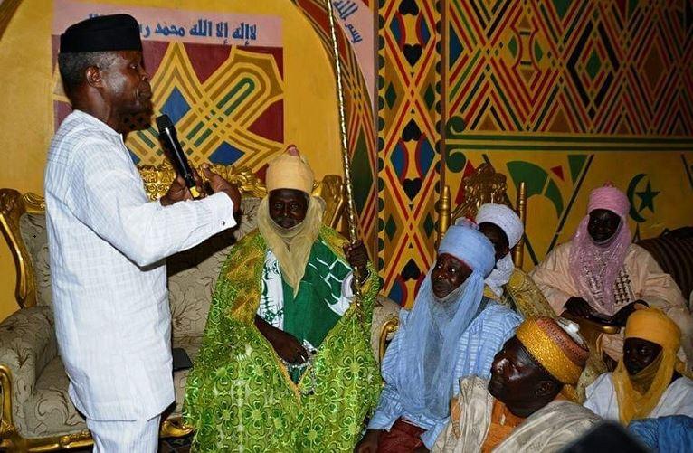 Vice President Yemi Osinbajo met with the Hausa community in Agege