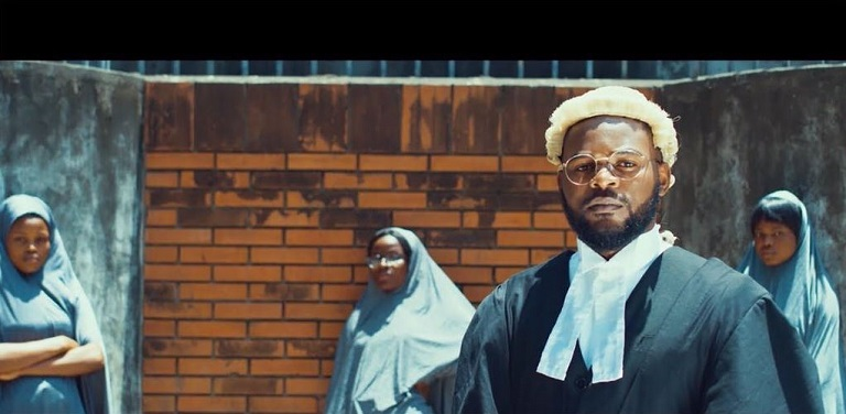 Falz has been hailed for his new video #Talk