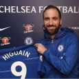Gonzalo Higuain will not feature in Chelsea's second leg cup against Tottenham in the Carabao Cup