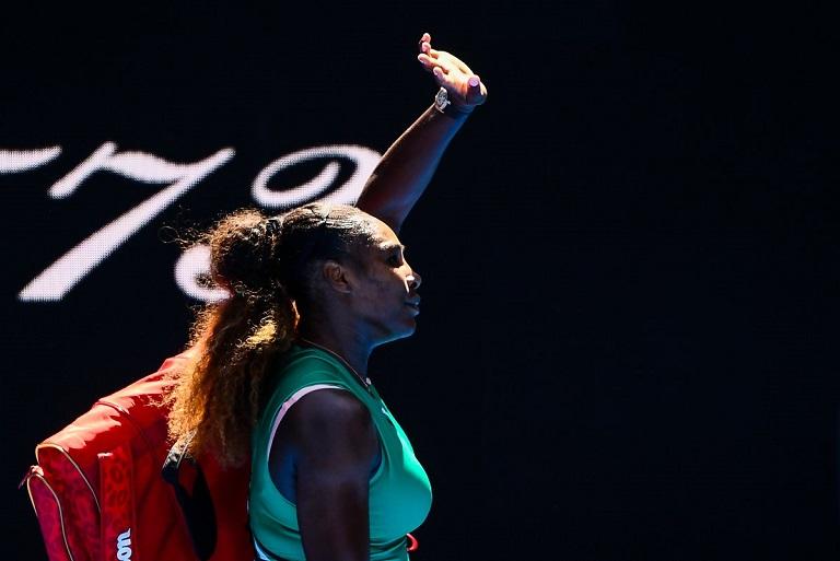 Karolina Pliskova beat Serena Williams to reach the semis at the Australian Open
