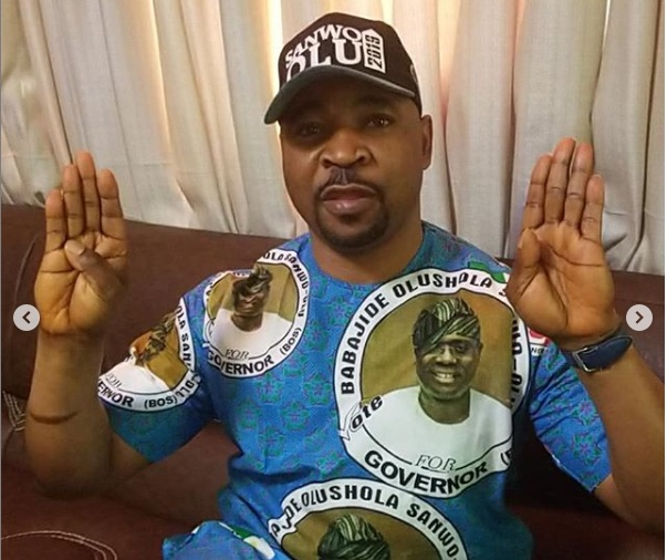 MC Oluomo was stabbed at Lagos APC rally