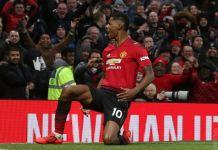 Marcus Rashford scored a brilliant goal as Manchester United beat Brighton 2-1 at Old Trafford