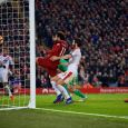Mohamed Salah scored twice as Liverpool battled past Crystal Palace 4-3