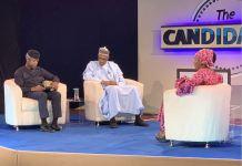 President Muhammadu Buhari and Vice President Yemi Osinbajo at The Candidates