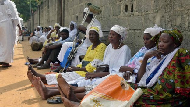 Victims of the 2010 post-election violence are opposed to Mr Gbagbo's release
