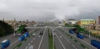 Abidjan-Lagos highway (Illustration)