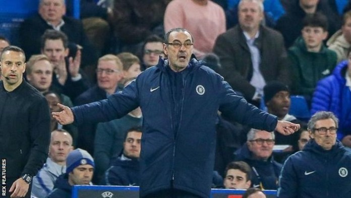 Frank Lampard has been rumoured to replace Maurizio Sarri at Chelsea even if the Italian wins Europa League