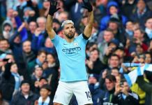 Sergio Aguero scored a hat-trick as Manchester City beat Chelsea 6-0