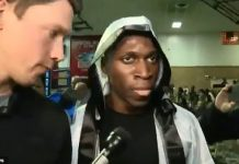 Abimbola 'Abel' Osundairo participated and won his semifinal bout at a boxing tournament