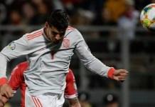 Alvaro Morata has now scored 15 goals in 29 games for Spain