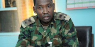 Acting Director Nigerian Army Public Relations, Colonel Sagir Musa says Boko Haram never attacked Maimalari Barracks crocodile smile vi
