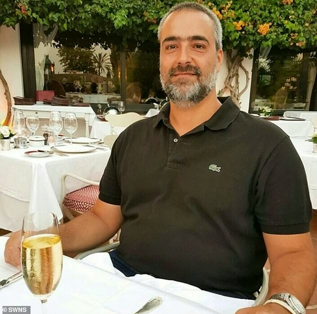 'David' used the photos of Pedro Hipolito, an innocent Portuguese businessman who works in Africa