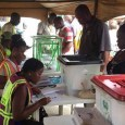 FILE PHOTO: An INEC official during an ongoing election in Nigeria
