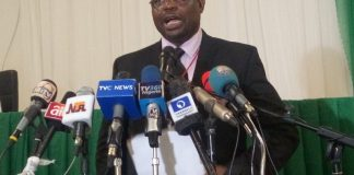 Festus Okoye, National Commissioner and Chairman of Information and Voter Education Committee INEC