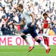Harry Kane scored from the spot as Tottenham played a 1-1 against Arsenal