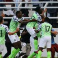 Moses Simon scored a late goal as Nigeria beat Seychelles 3-1