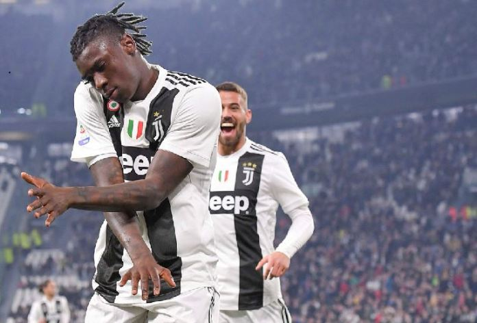 Teenager Moise Kean scores twice as Juventus beat Udinese 4-1 to go 19 points clear