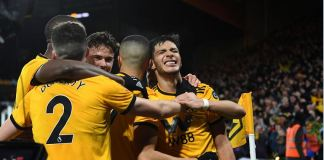 Wolves stunned Manchester United winning 2-1 to reach the semi-final in Wembley