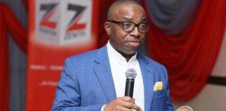 Ebenezer Onyeagwu, Zenith Bank CEO