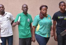 EFCC operatives have arrested five train ticket racketeers in Abuja, Nigeria's capital