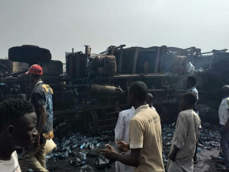 Tanker fire kills two in ibadan
