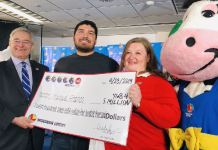 Manuel Franco says he felt lucky that he bought the winning ticket