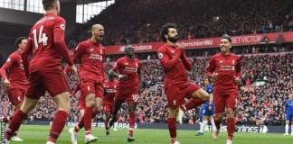 Mohamed Salah scored his 22nd goal of the season for Liverpool against Chelsea