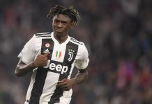 Moise Kean has now scored seven goals in his last seven games for club and country