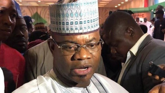 Kogi state Governor Yahaya Bello is seeking a second term in office