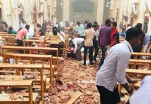Inside one of the Sri Lankan churches attacked by Muslim terror group