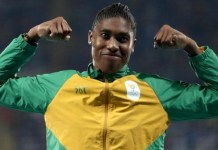 Caster Semenya has joined South African football club JVW