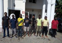 Eight persons have been remanded for oil theft
