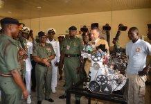 German Ambassador to Nigeria, Dr Bernhard Schlagheck was present as AFEME graduates 15 technicians