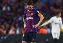Lionel Messi injured after winning FIFA Best Footballer Award