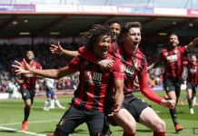 Nathan Ake scored a late goal to deny Tottenham any chance of sealing their top four spot