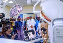 President Muhammadu Buhari commissions projects in Ogun State