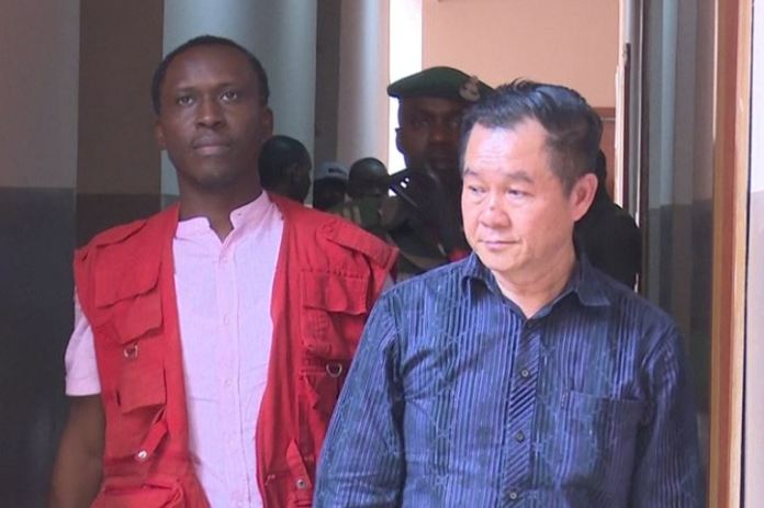 Tan Ah Chai Richard has been remanded in Ikoyi prison