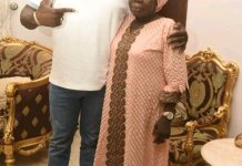Dino Melaye with his mother