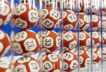 The man had been playing the numbers in the lottery for 13 years