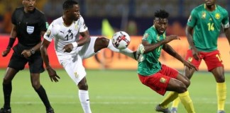 Cameroon and Ghana played an entertaining 0-0 draw