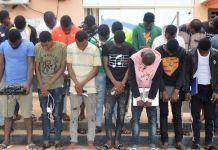 EFCC has arrested 27 Yahoo Boys in Osogbo, Osun State