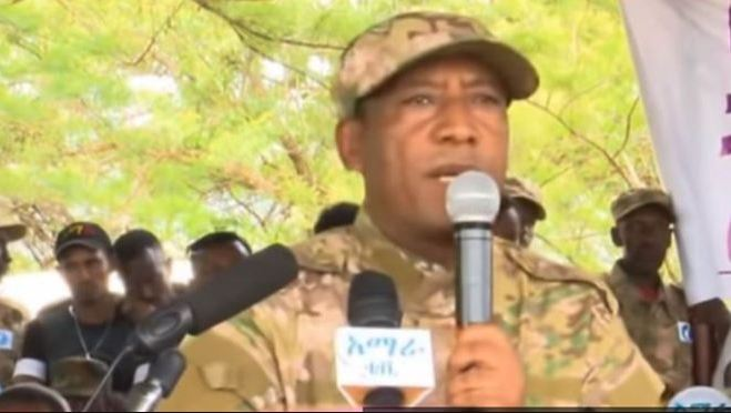 Ethiopian renegade Brigadier General Asaminew Tsige was killed as he attempted to escape